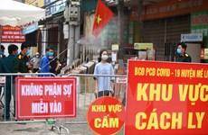 Thêm 2 người ở Hạ Lôi, Việt Nam có tổng cộng 260 ca mắc bệnh COVID
