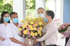 Thêm 1 bệnh nhân mắc COVID-19 được công bố khỏi bệnh