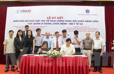 Bộ Y tế hợp tác với 8 tổ chức quốc tế về hoạt động phục hồi chức năng