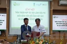 Bệnh viện Việt Đức ký hợp tác với các đơn vị bảo hiểm bảo lãnh