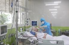 Không có ca mắc COVID-19 mới, BN91 thông khí phổi đã tăng lên 58%
