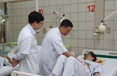 Bệnh viện Bạch Mai cứu sống mẹ con sản phụ có khối u gan 3kg hiếm gặp