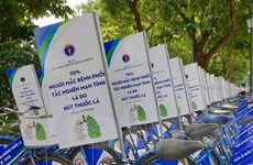 Công bố kết quả cuộc thi thanh niên Việt Nam nói không với thuốc lá