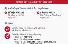 Thông báo khẩn tìm hành khách trên 2 chuyến bay VN7282 và VJ733