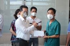 """52 y, bác sỹ Bình Định và Thừa Thiên Huế """"rút quân"""" khỏi Đà Nẵng"""