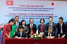 Nhật Bản viện trợ không hoàn lại khoảng 500 tỷ đồng cho Việt Nam