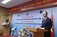 Hoa Kỳ trao tặng Việt Nam 100 máy thở hỗ trợ phòng, chống COVID-19