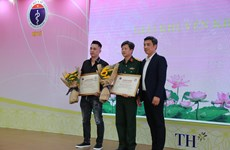 Phóng viên Thông Tấn Xã Việt Nam đoạt 5 giải thưởng về lĩnh vực y tế