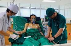 Kỳ tích: Cứu sống bệnh nhân ho ra gần nửa lít máu mỗi lần