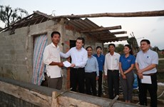 Khám bệnh, cấp phát thuốc miễn phí cho người dân miền Trung