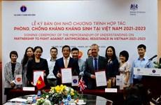 Chính phủ Anh cam kết cùng Việt Nam giải quyết kháng kháng sinh