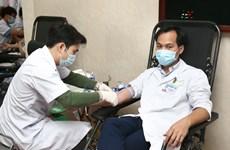 Hàng trăm y bác sỹ của Bệnh viện Việt Đức hiến máu cứu người