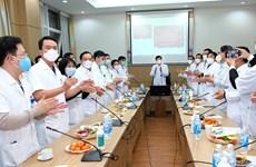 Xúc động buổi giao thừa trực tuyến của 18 bệnh viện điều trị COVID-19