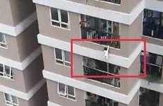 Hà Nội: Bé gái rơi từ tầng 12A chung cư bị trật khớp háng bên phải