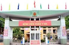 Hà Nội: Một bác sỹ tại Bệnh viện quân y 105 mắc COVID-19
