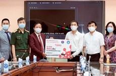 Bộ Y tế tiếp nhận thêm 10.000 test xét nghiệm virus SARS-CoV-2