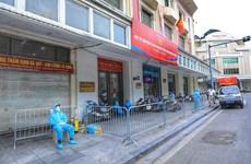 Hà Nội: 2 ca mắc COVID-19 từ Đà Nẵng về, dự hội họp và đi nhiều nơi
