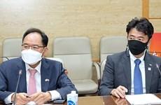 Việt Nam-Hàn Quốc trao đổi hợp tác về vaccine và thiết bị y tế