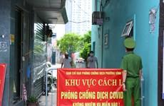 Sáng 14/8, Hà Nội thêm 2 ca mắc mới COVID-19 đã được cách ly từ trước
