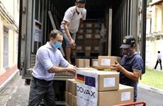 852.480 liều vaccine AstraZeneca do Đức hỗ trợ đã về Việt Nam