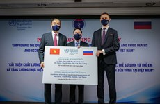 Khởi động dự án chăm sóc tại bệnh viện cho bà mẹ, trẻ em Việt Nam