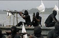 Phiến quân Nigeria bắt cóc thủy thủ Mỹ đòi tiền chuộc