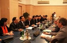 Đoàn đại biểu cấp cao thành phố Hà Nội thăm Nga
