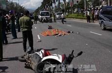 Xe tự chế đi sai đường gây tai nạn làm 2 người thiệt mạng