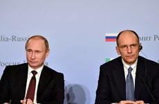 Italy-Nga nhất trí tăng cường quan hệ đối tác chiến lược