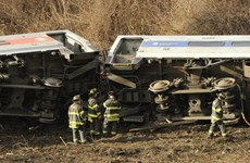 Thương vong trong vụ tai nạn tàu hỏa ở Mỹ tăng mạnh