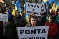 Romania: Biểu tình phản đối dự luật liên quan tham nhũng