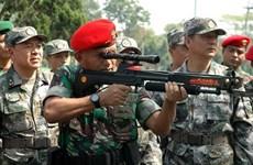 Indonesia-Trung Quốc tập trận chung hải quân ở Biển Đông