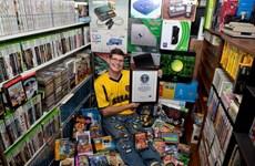 Kỷ lục Guiness cho bộ sưu tập 10.000 trò chơi điện tử