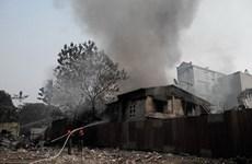 Cháy nhà trọ giữa Thủ đô, một nữ sinh viên tử vong