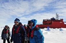 Giải cứu toàn bộ hành khách kẹt ở Nam Cực