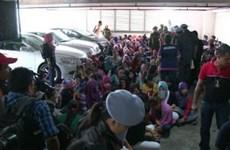 Malaysia bắt 200 người nước ngoài nhập cư bất hợp pháp