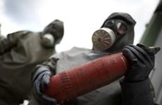 EU hỗ trợ 12 triệu euro để tiêu hủy vũ khí hóa học Syria