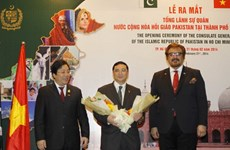 Ra mắt Tổng lãnh sự quán Pakistan tại Thành phố Hồ Chí Minh