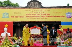 Lễ hội chùa Vĩnh Nghiêm được công nhận Di sản quốc gia
