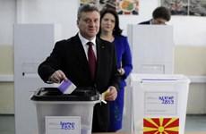 Liên minh cầm quyền Macedonia giành chiến thắng kép