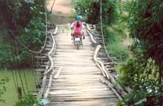 19 cầu treo tại Tuyên Quang đều xuống cấp nghiêm trọng