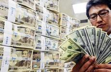 Thặng dư tài khoản vãng lai của Nhật xuống mức thấp kỷ lục