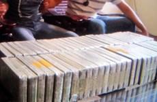 Phá đường dây xuyên quốc gia buôn bán 48 bánh heroin