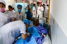 Nghi can trong vụ cháy xe buýt ở Tứ Xuyên đã tử vong