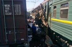 Tai nạn đường sắt ở ngoại ô Moskva, gần 20 người thương vong