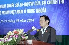 Tháo gỡ vướng mắc để phát huy sức mạnh cộng đồng Việt kiều