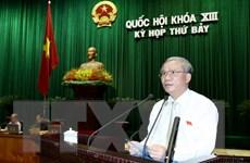 Quốc hội cho ý kiến về dự thảo Luật xuất nhập cảnh