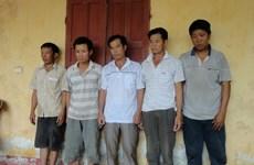Bắt giữ thêm bốn đối tượng trộm cắp tại công trường Formosa
