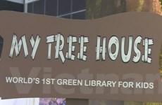 """Độc đáo """"thư viện xanh"""" tại Hội chợ Sách Singapore 2014"""