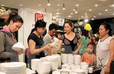 Khai mạc Hội chợ hàng Việt Nam chất lượng cao tại Cần Thơ